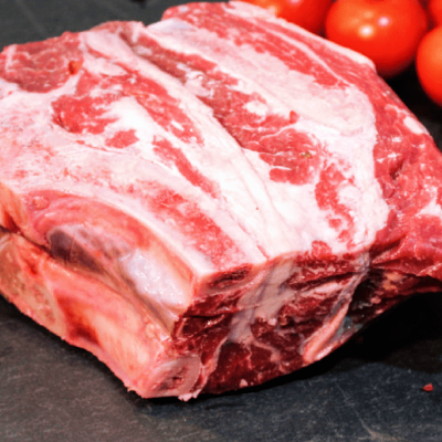 Chuck roast from 100% grassfed beef at Longbottom Farm