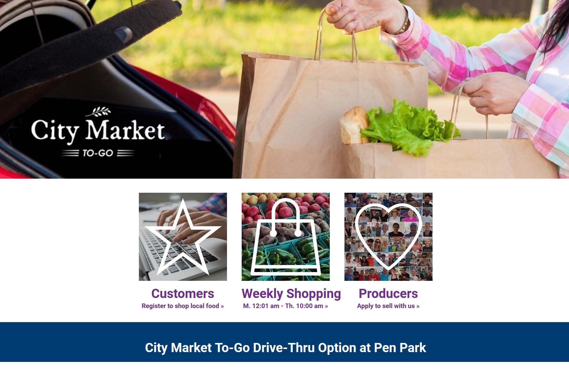 Charlottesville City Market To-Go