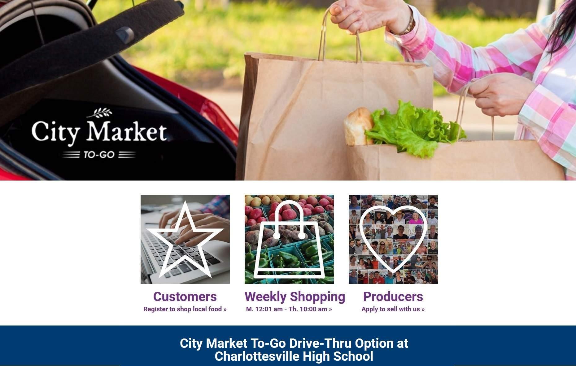 Charlottesville City Market To-Go - CHS